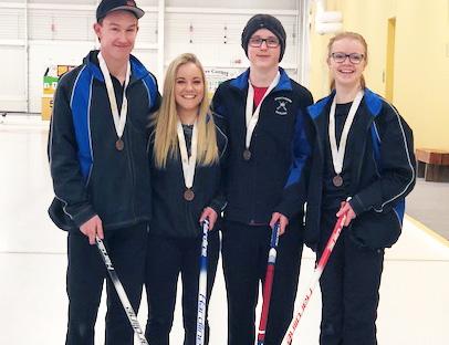 Congratulations SHS Curlers