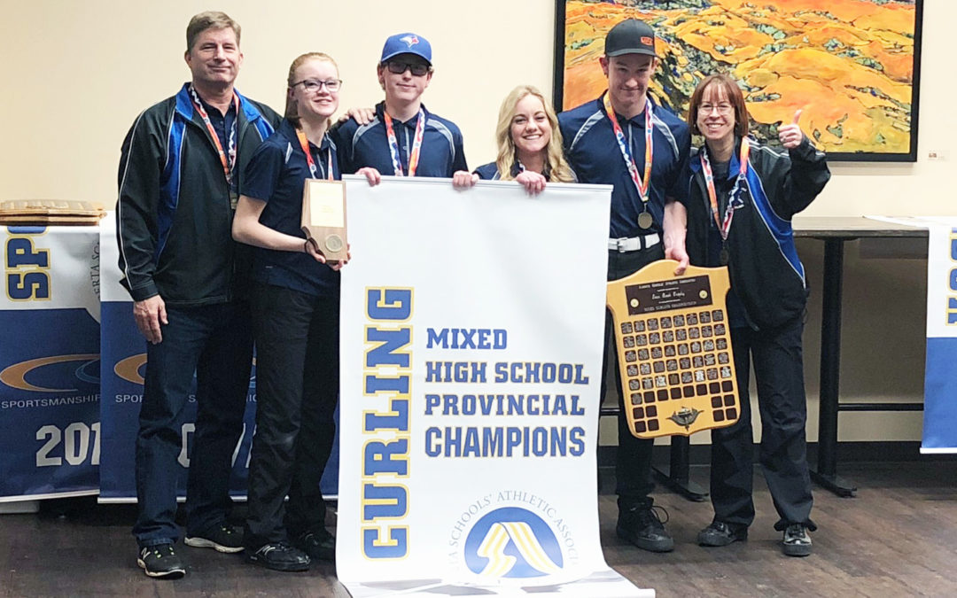 SHS mixed team wins provincial championship